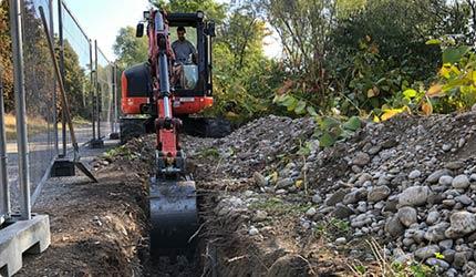 Entreprise de travaux publics à Ternay