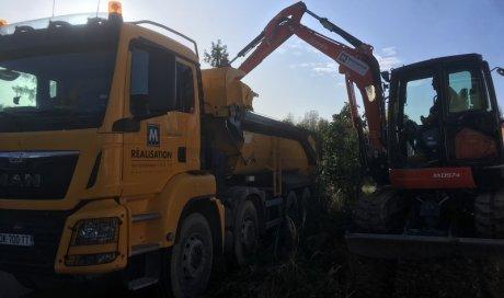 Entreprise spécialisée dans l'évacuation de terre à Irigny